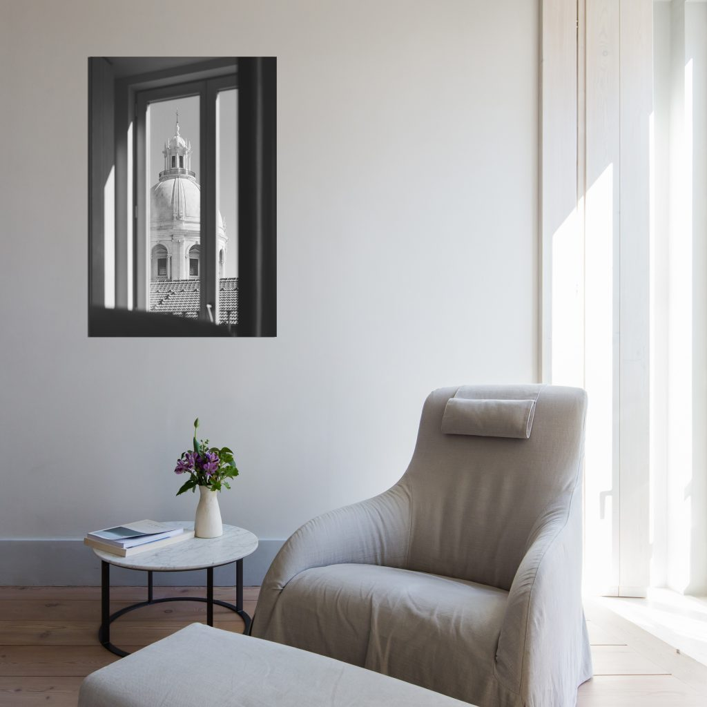 Wall decor with a photo of Lisbon Pantheon